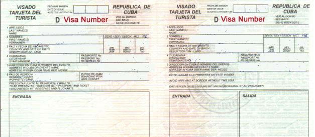 Visa De Touriste Comment Obtenir Le Visa